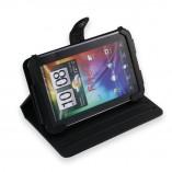 Чехол кейс подставка для HTC Flyer черный