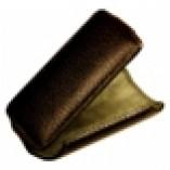 Футляр-книга  Apple iPhone 4\4S коричневый флотер