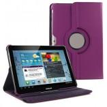 чехол книжка для google nexus 7 вращение 360 градусов фиолетовый