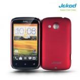 Накладка на заднюю крышку Jekod для HTC Desire C пластик красный