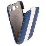 Чехол Melkco для Samsung Galaxy S3 i9300 Limited Edition Jacka Type (Blue/White LC)