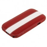 Чехол Melkco для Samsung Galaxy S3 i9300 Limited Edition Jacka Type (Red/White LC)