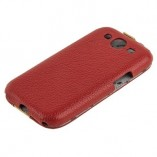 Чехол Melkco для Samsung Galaxy S3 i9300 Limited Edition Jacka Type (Red/Yellow LC)