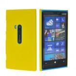 чехол накладка для nokia lumia 920 желтая