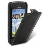 Чехол-книжка Melkco для Nokia C5-03 черный