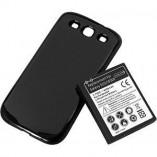 Аккумулятор повышенной емкости 4300 mAh c задней крышкой для Samsung Galaxy S3 Черный